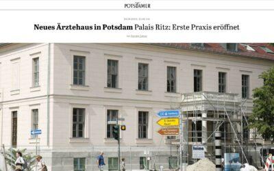 Es geht los – Die erste Praxis im Palais Ritz ist eröffnet! Zahnarztpraxis KU64 folgt!
